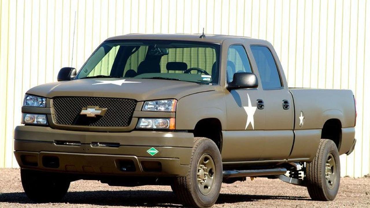 U.S. Army Chevrolet Fuel Cell Silverado