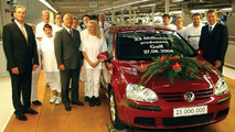 Production anniversary at Volkswagen