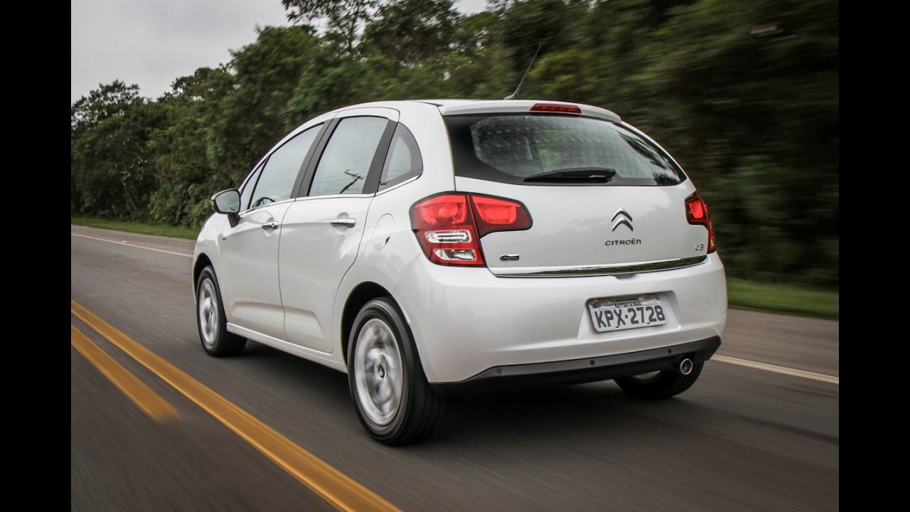 Citroën faz recall de 8.329 unidades do C3 por defeito no limpador de para-brisa