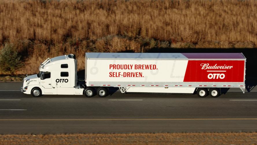 İlk otonom bira teslimatı gerçekleşti