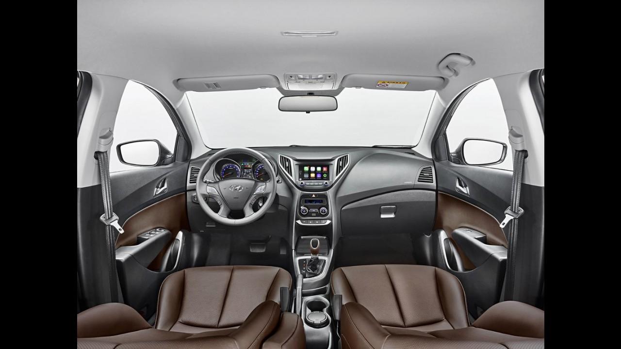 Hyundai começa a vender o novo HB20 2016 neste sábado