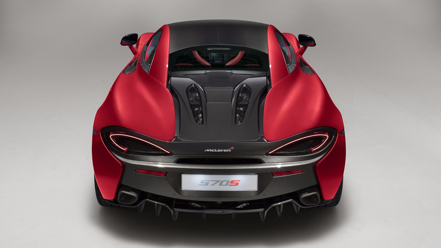 McLaren 570S Spider Will Drop Its Top This Year