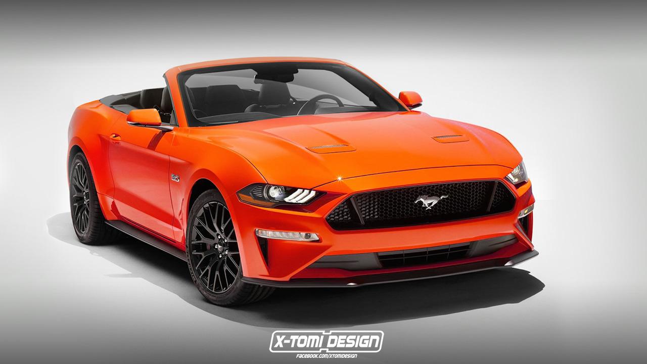 2018 Ford Mustang Convertible tasarım yorumu