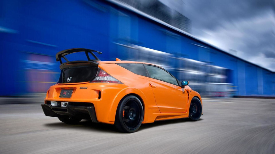 Honda CR-Z MUGEN RR concept detailed