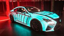 Electro-luminescent Lexus RC F
