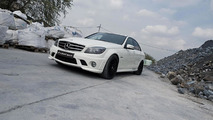 Mercedes C63 AMG by McChip - 20.5.2011