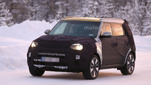 2017 Kia Soul facelift spy photo