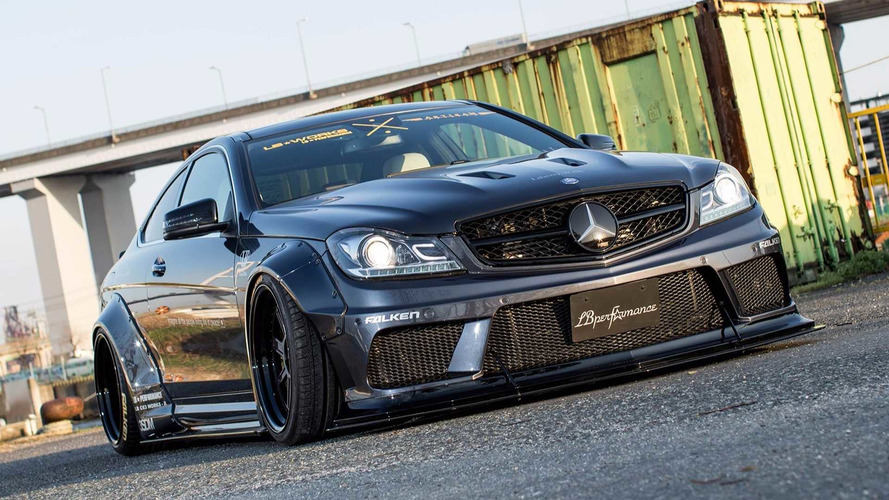 Japanese Tuner Liberty Walk Attacks the Mercedes-AMG C63
