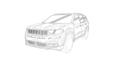 Serait-ce le futur Jeep Grand Wagoneer ?