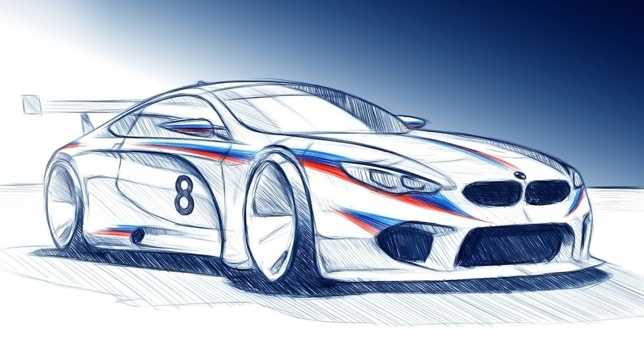 BMW M8 GTE 2018 render