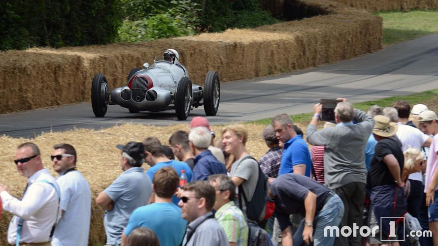Goodwood 2017 - Les avant-guerres en piste