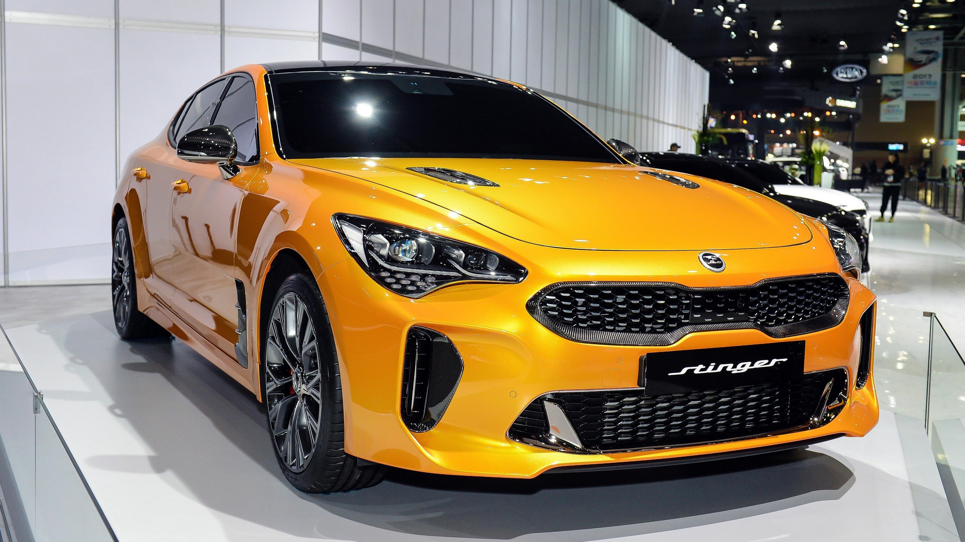 2018 kia stinger does 0 100 km h in 4 9 seconds. Black Bedroom Furniture Sets. Home Design Ideas
