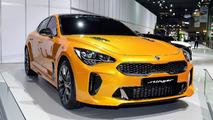 2018 Kia Stinger at the Seoul Motor Show
