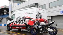 Vauxhall Movano Race Van Concept with Yamaha