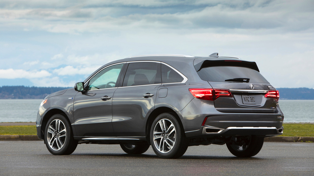 Cool 2017 Acura MDX Hybrid First Drive Photo