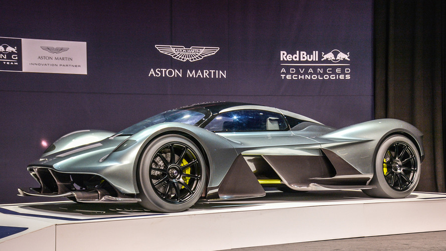 The Aston Martin Valkyrie is getting a mid-engined baby brother