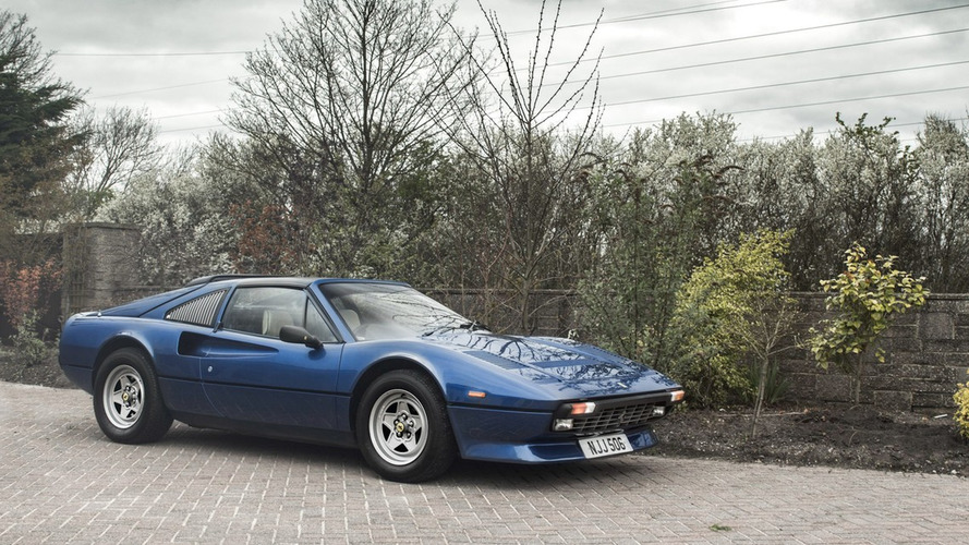 une tr s rare ferrari 308 gts qv est vendre. Black Bedroom Furniture Sets. Home Design Ideas