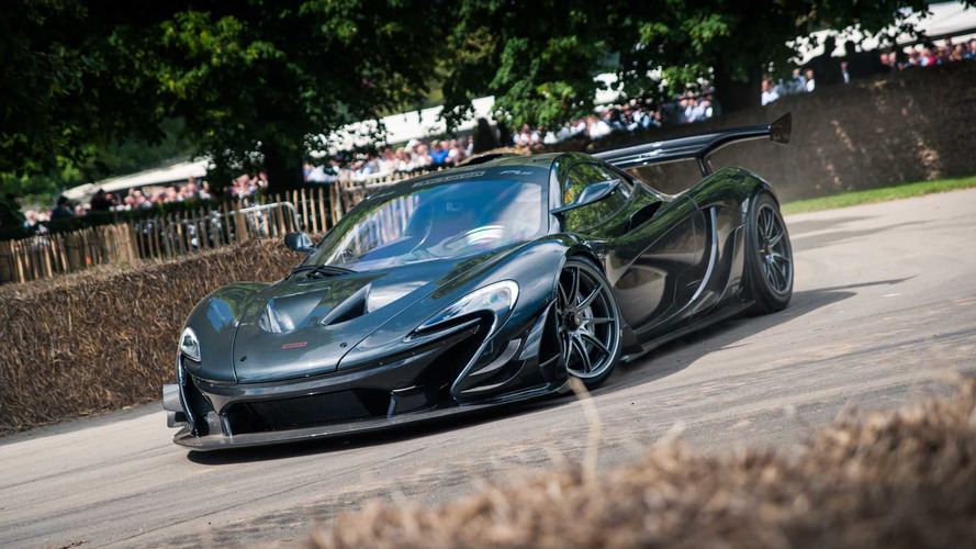 McLaren P1 LM en Goodwood
