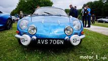 First-gen Alpine A110 at 2017 Goodwood Festival of Speed