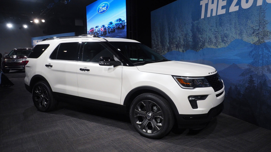 2018 Ford Explorer Updates Include More Tech, Safety Options