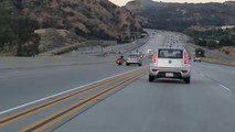 California Road Rage Biker Vs Sedan
