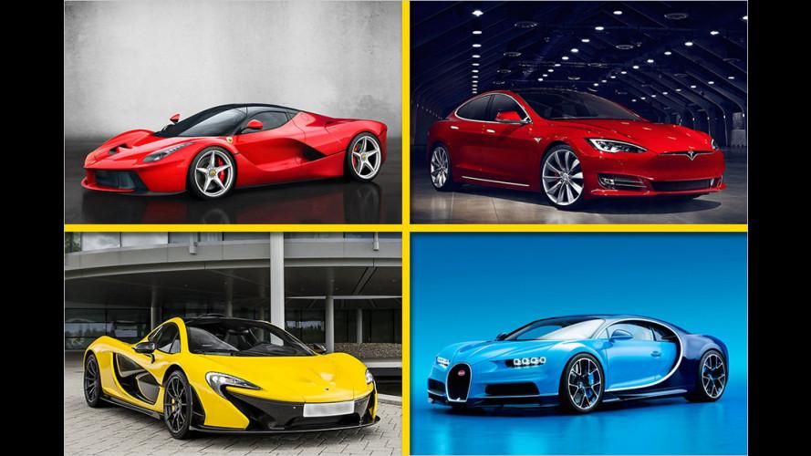 Top Ten: Die schnellsten Beschleuniger