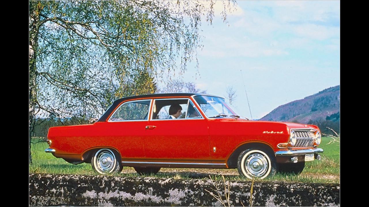 Platz 12: Opel Rekord/Olympia