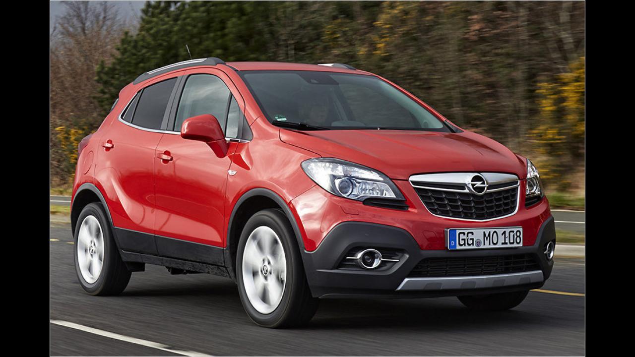 Kleine SUVs: Opel Mokka