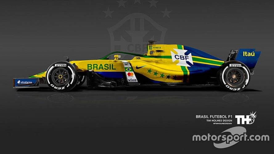 Copa do Mundo da Fórmula 1? Veja como seriam os carros de cada país