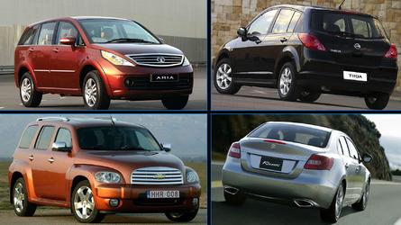 Sí, estos coches se vendieron en España... aunque nadie los eche de menos