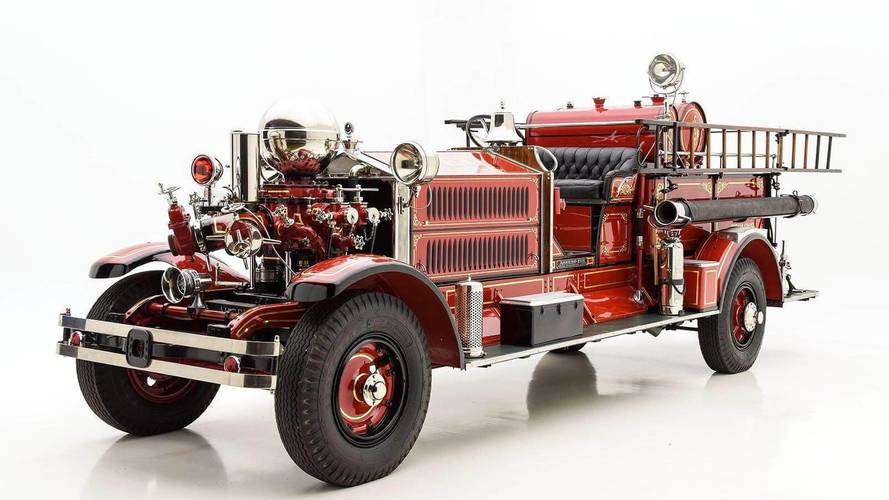 Classified Hero: Ahrens-Fox N-S-4 Fire Truck