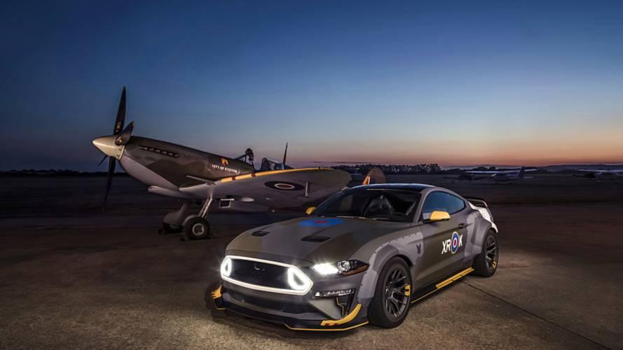 Ford Mustang GT Eagle Squadron, quella per Goodwood