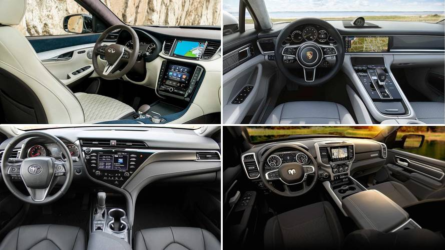 Wards Auto Names Its 10 Best Interiors For 2018