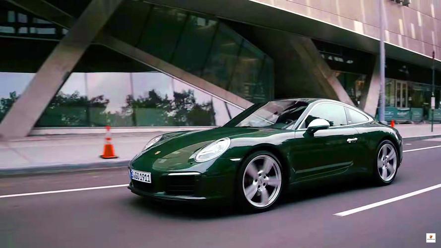 One-Millionth Porsche 911 Lands In New York City