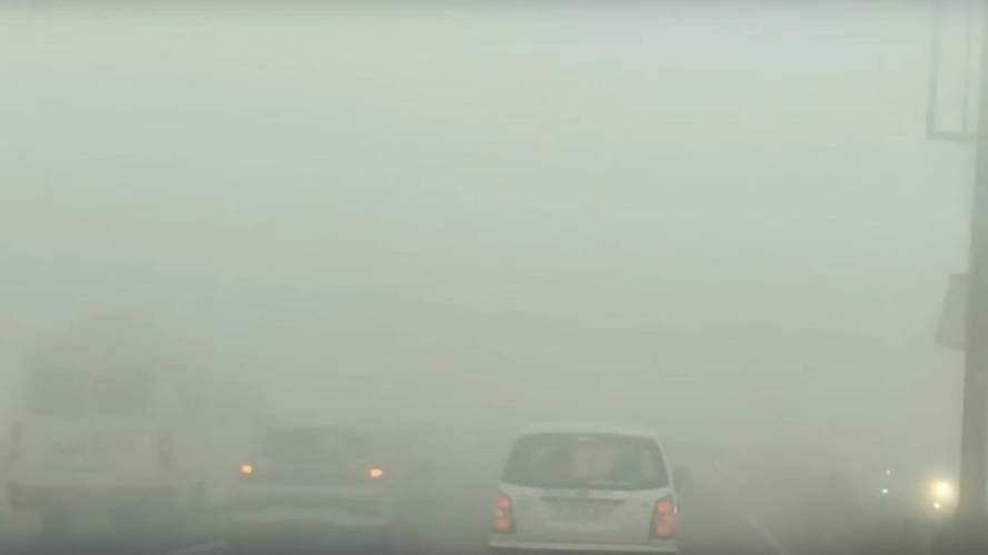 New Delhi smog is so bad the anti-smog chopper has been grounded