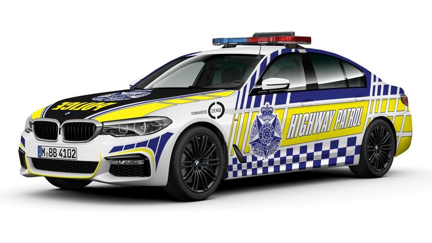 La police de Victoria a choisi la BMW Série 5 diesel