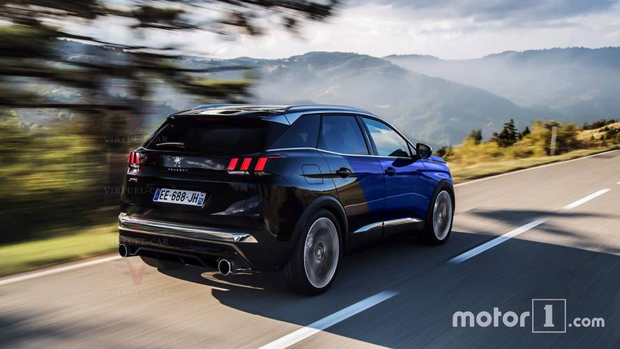 Peugeot 3008 GTi illustrations