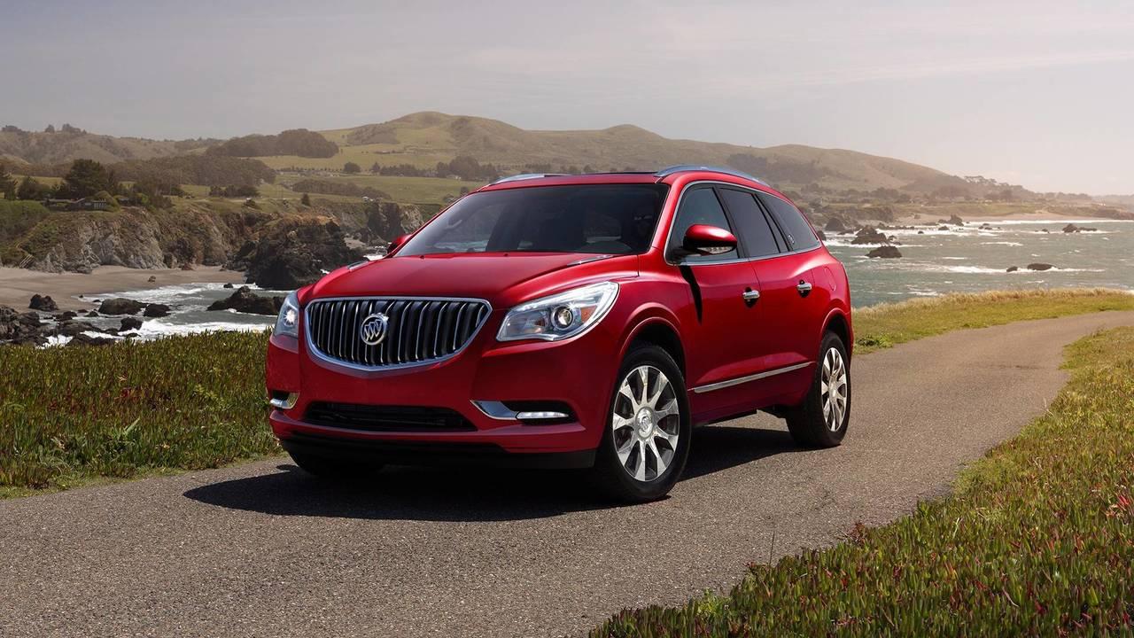 9. 2017 Buick Enclave: $5,500 Rebate