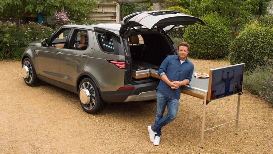 Jamie Oliver transforma un Land Rover Discovery en su cocina móvil