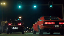 2018 BMW i3S drag races classic Dodge Charger