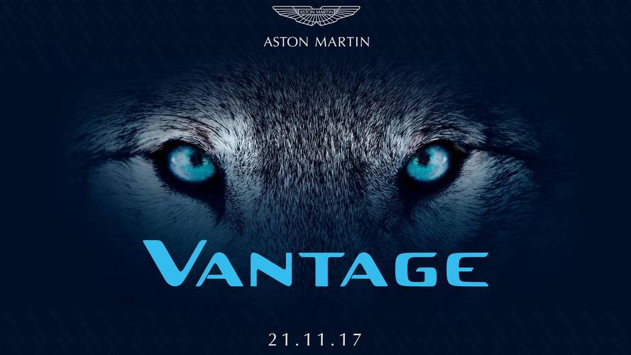 It's official: Aston Martin Vantage to be revealed on 21 November