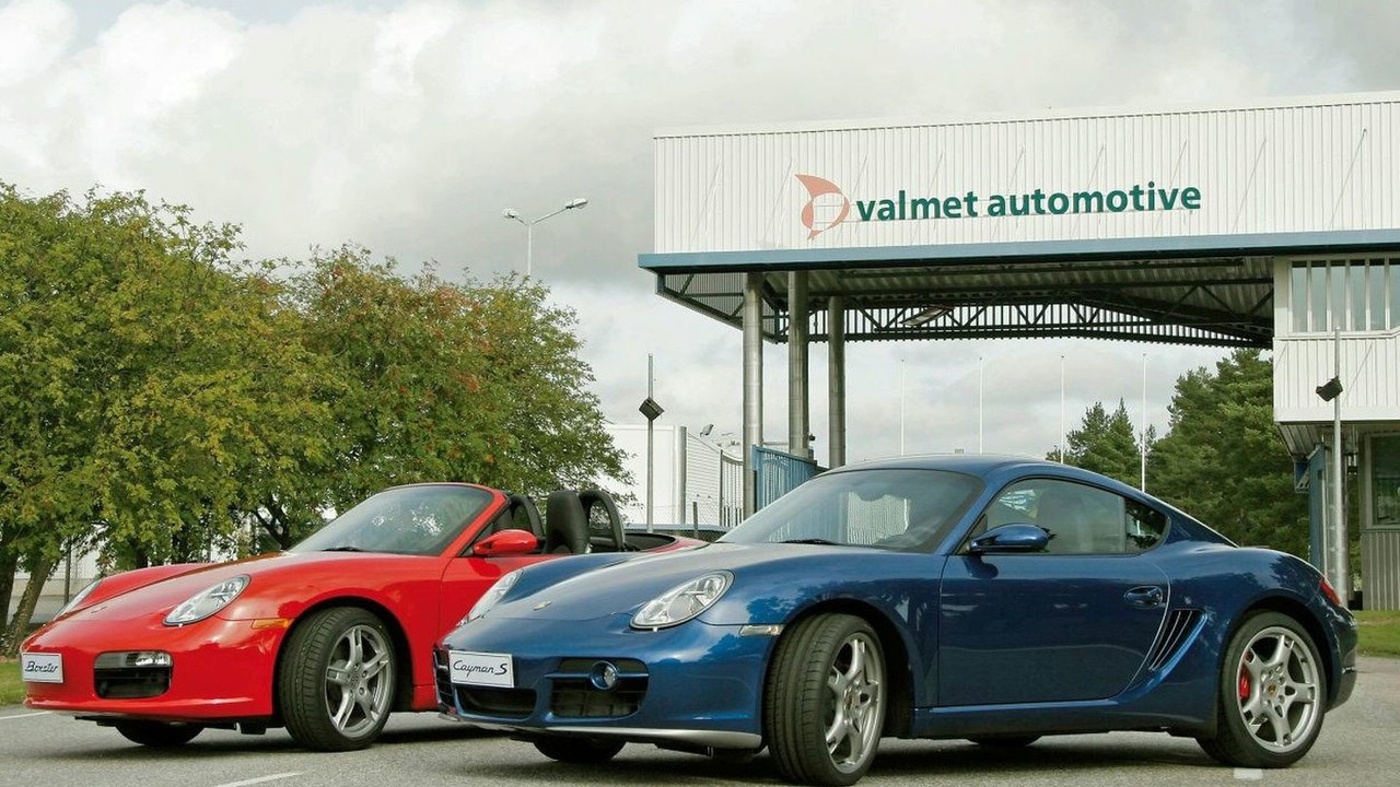 Boxster production at Valmet Automotive