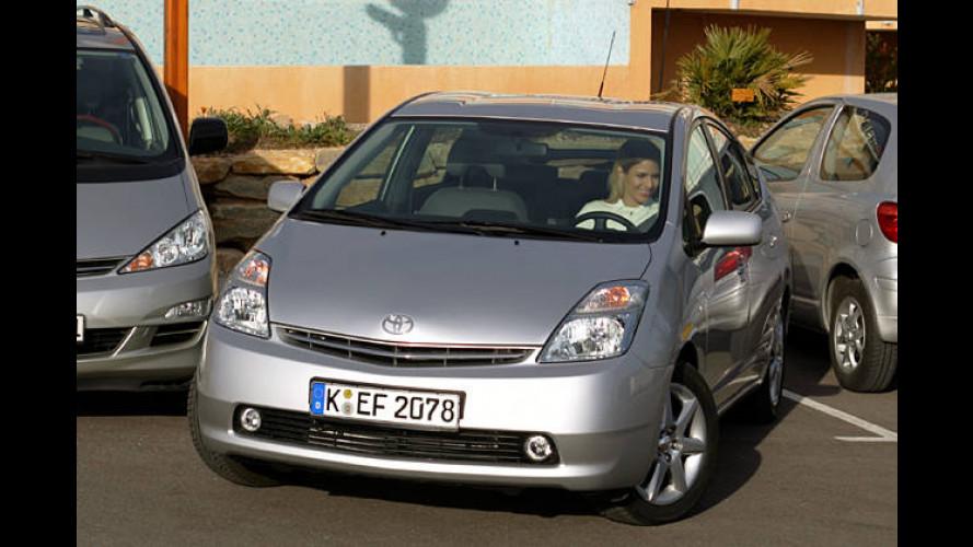 Geisterparker: Einparkassistent im Toyota Prius im Test