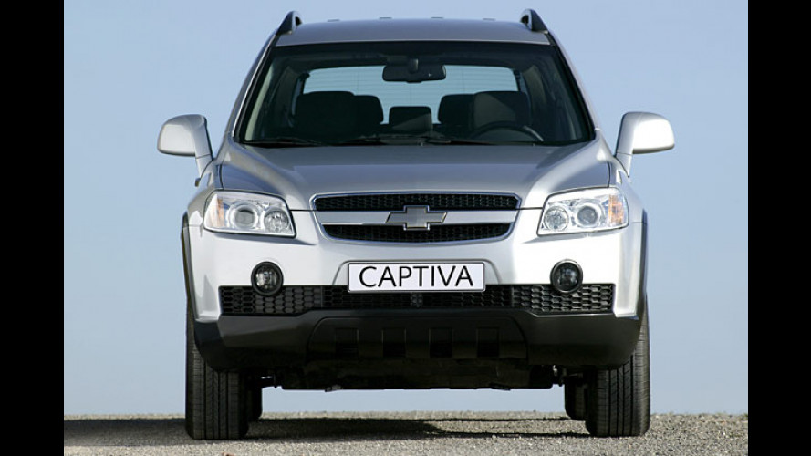 Chevrolet S3X heißt Captiva: Neuer SUV kommt 2006 zu uns