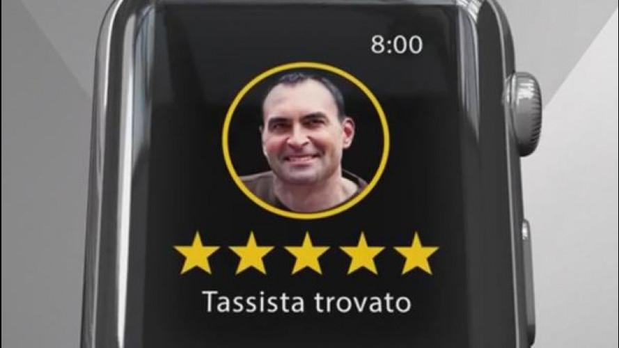 MyTaxi, ora il taxi si chiama con l'Apple Watch