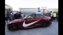 Carl Lewis sulla Alfa Romeo Giulia Quadrifoglio