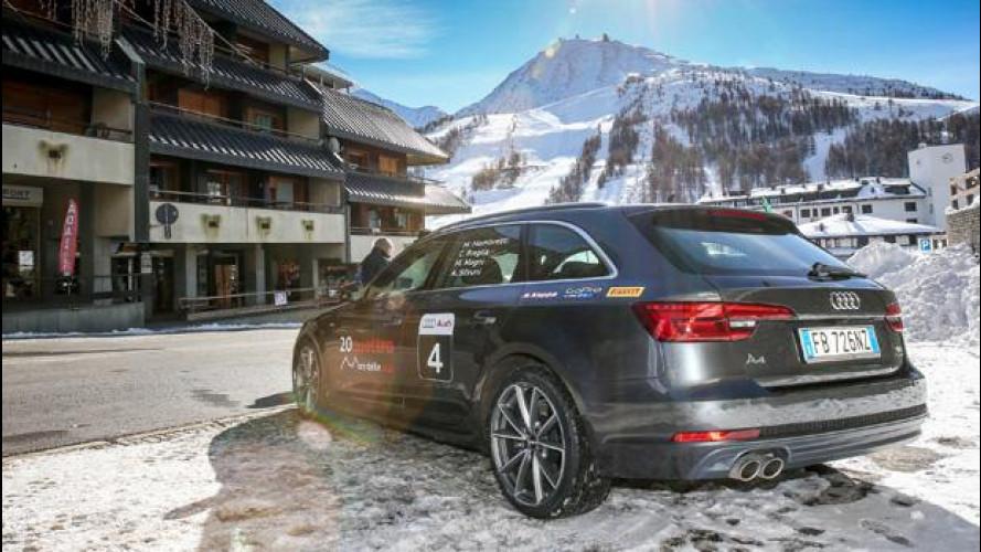 Audi A4, la Avant pronta per la 20quattro ore delle Alpi