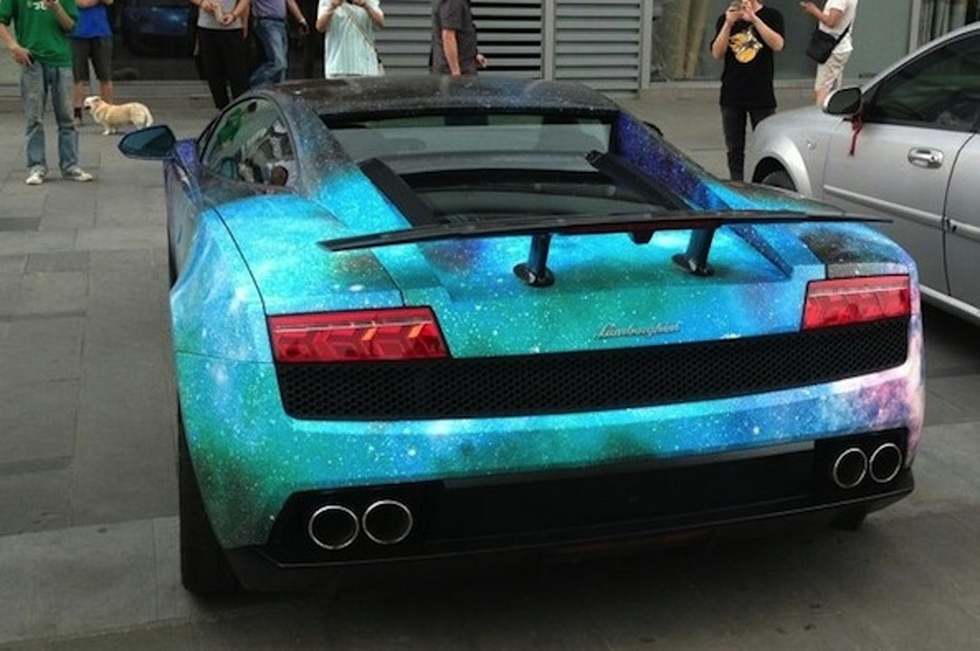 This Lamborghini Gallardo is Out of this World