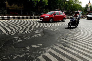 This Is No Illusion — Deadly Heat is Melting Roads in India