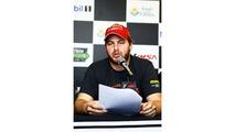 Henrique Cisneros at the Motorsport Safety Foundation press conference